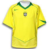 The famous Brazilian soccer jersey