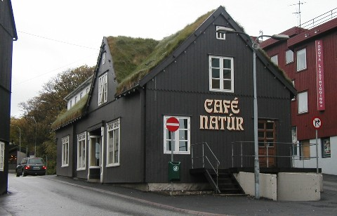 Café Natúr in Tórshavn, where many soccer supporters have visited over time