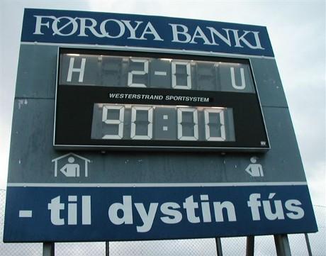 HB Tórshavn beat ÍF Fuglafjørður 2-0 to secure the 2006 championship title