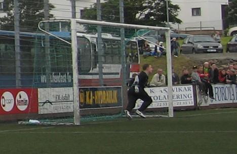 Karsten Joensen, NSÍ goalkeeper