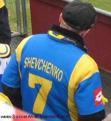 A replica of Andriy Shevchenko