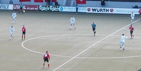 B36 Tórshavn - B68 Tórshavn in Gundadalur Stadium, April 22, 2006